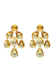 champagne kate chandelier earrings by kate spade new york accessories for 40 the runway