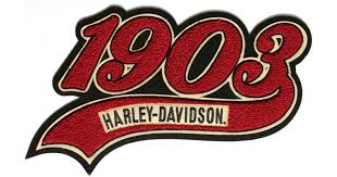 harley davidson 1903 chenille patch large the cheap place