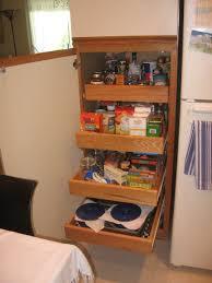 Pull Out Kitchen Storage Kitchen Cabinet Sliding Wooden Shelves Modern Stylish Glass Pull