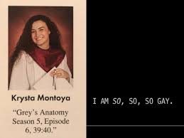 Grey's Anatomy Quotes Cool Teen Used 'Grey's Anatomy' To Write A Hidden Message In Senior Quote
