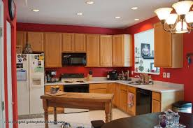 Modern Kitchen Color Schemes Tag For Kitchen Wall Colors With Light Oak Cabinets Nanilumi