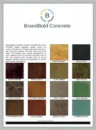 Brandbold Brilliance Concrete Acid Stain 14 Colors 1 Gallon Step 2