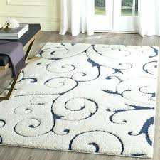 elegant navy and white rug cream blue area striped rugs ideas target