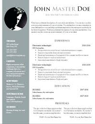 Google Templates Resume Simple Free It Resume Templates Resume Templates Google Docs Simple Design