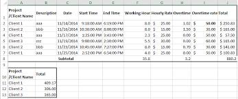 Billable Hours Timesheet Billable Hours Template Excel Free Under Fontanacountryinn Com