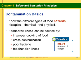 Understanding the risks associated with each can dramatically reduce the potential of a foodborne illness. Section 1 1 Safety Basics Burns And Injuries Can Easily Occur Ppt Video Online Download