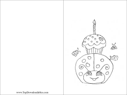 Small Picture Free Printable Ladybug Decoration Card Coloring Page DIY