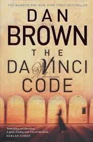 the da vinci code dan brown book to the future the title of this book pictured left is you will notice all in block capitals now go and do a google search or preferably any other search engine