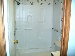 shower mobile home doors door bottom seal stall kits for stalls and decorations homes