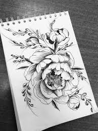 эскиз тату цветы эскизы для тату By Sofatatu эскиз тату