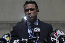 wabash coffee party   us representative michael grimm rny speaks at a news conference outside the
