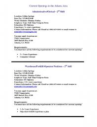 Picking And Packing Resume Resume Cover Letter Template