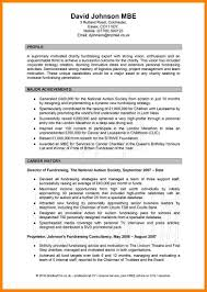 Profile In Resume Example For Student Cv Profile Examples Student Student Career Service Management System 10