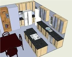 L Design My Own Kitchen Designs Your Layout With  Great Brown