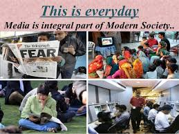 role and impact of media on society final ppt this is everydaymedia is integral part of modern society