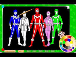 Small Picture Free Power Ranger Coloring Pages For Kids YouTube