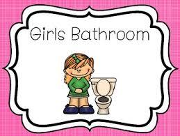 Preschool bathroom signs Class Library Teachers Pay Teachers Printable Bathroom Posters Girls And Boys Bathroom Signs Tpt