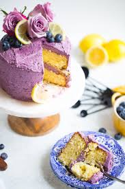 Mini Lemon Blueberry Layer Cake Butter Be Ready