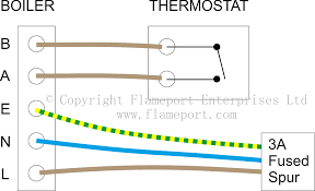thermostats for combination boilers Boiler Thermostat Wiring Diagram volt free thermostat with combination boiler connections boiler wiring diagram for thermostat