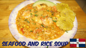 Seafood Asopao - Rice and Seafood Soup ...