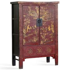 red lacquered furniture. Painted Armoire, Red Lacquer Lacquered Furniture