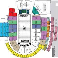 Rare Colorado Football Seating Chart Nebraska Football