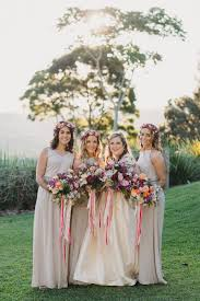 Australian Garden Wedding With A Patterned Wedding Dress Ruffled