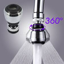 Kitchen Water Filter Faucet 360 Rotate Kitchen Faucet Water Swivel Head Adapter Water Filter