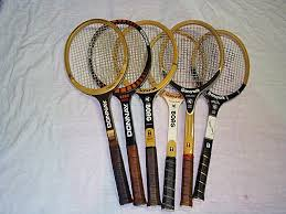 many diffe borg racket models from bancroft donnay