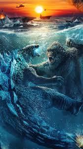Godzilla vs. Kong Underwater Fight ...