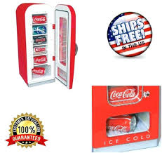 Koolatron Mini Vending Machine Enchanting Coca Cola Retro Vending Fridge Machine Lawrdco