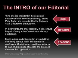 editorial writing elementary what issues interest you