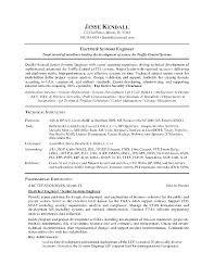 Engineering Resume Objective Industrial Resume Objective Industrial