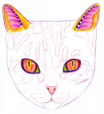 It can be an excellent starter activity, with contour drawing exercises: How To Draw A Cat Learn How To Create A Unique Colorful Cat Drawing Art Is Fun
