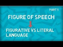 literal language figure of speech figurative vs literal language figurative meaning vs literal meaning