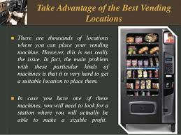 Electronic Vending Machine Locations Custom Find The Ideal And Best Vending Location Jayne Manziel