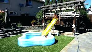 homemade above ground pool slide. Above Ground Pool Slide Indoor Swimming Pools With Slides Used Image Of How To Make A Homemade U