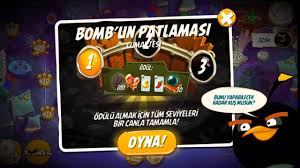how the game is played: Kemalios Games Angry Birds 2 : Daily Challenge ( Bomb's Blast)