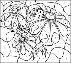 Free Printable Color By Number Pages Color By Number Pages Photo