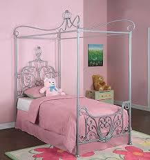 Plush Twin Bed Frame For Toddler Girl Iron Twin Bed Girls Bedroom