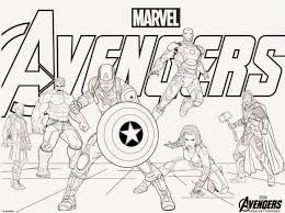 Small Picture Avengers Coloring Pages ComicsSuperheros Pinterest Story