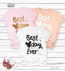 Unisex Shirt Size Chart Color Run Best Day Ever Disney Shirt Disney Shirts For Family Disney Shirt For Women Disney World Shirts Matching Family Disney Shirts