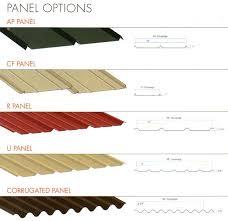 metal roof panel dimensions 29 gauge metal roofing s fabulous metal roof panels