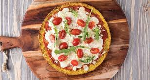 Image result for cauliflower pizza