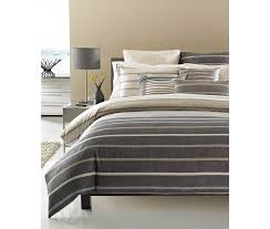 com hotel collection modern colonnade queen duvet cover home kitchen