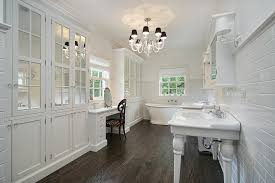 gray bathroom with white cabinets. white master bathroom with cabinets and makeup area gray r