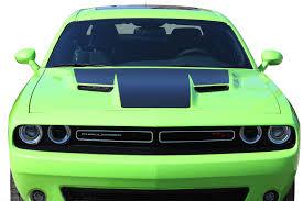 2015 2020 Dodge Challenger Hood Graphic Mopar Oem Style Decals Vinyl Stripes Kit