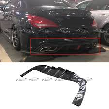 Mercedes Cla Led Lights Us 594 15 15 Off Rear Lip Bumper Spoiler Broad Diffuser For Mercedes Benz W117 C117 Cla Sport With Led Lights In Bumpers From Automobiles