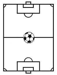 soccer field templates soccer field template craft corner june soccer football