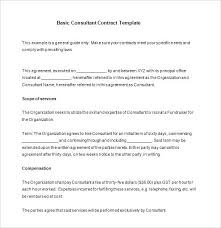 Consulting Contract Template Free Download Catering Contract Template Free Agreement Resume Management